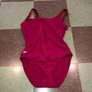 Speedo competition women's one piece swimsuit 14
